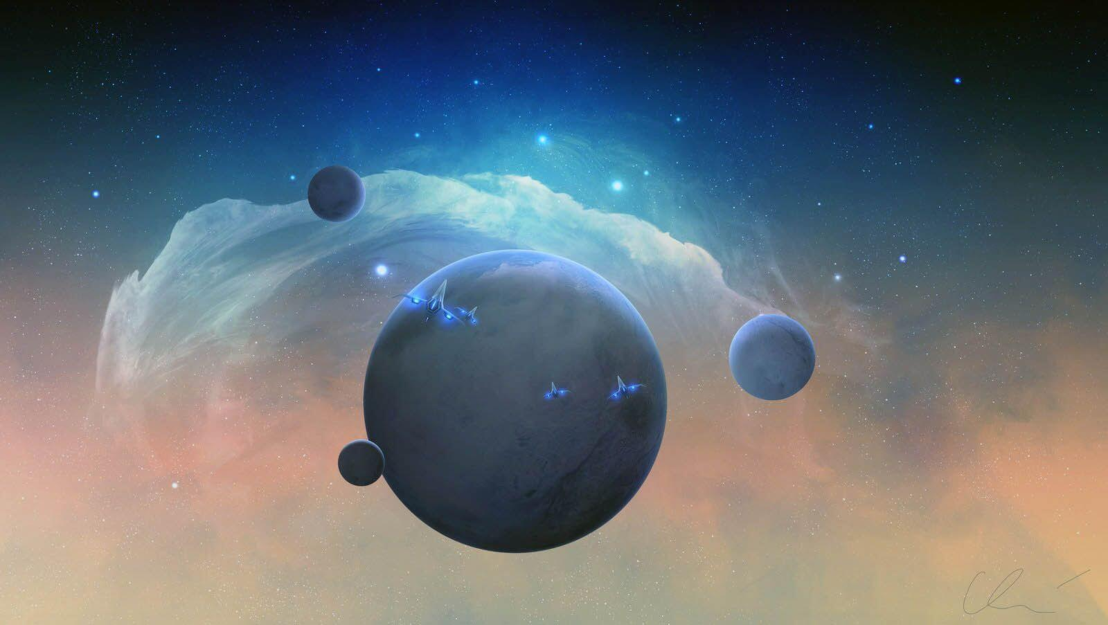Фоторепортаж такі далекі і близькі планети