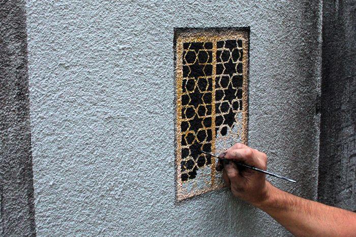 Графіті в стилі гіперреалізм від іспанського художника