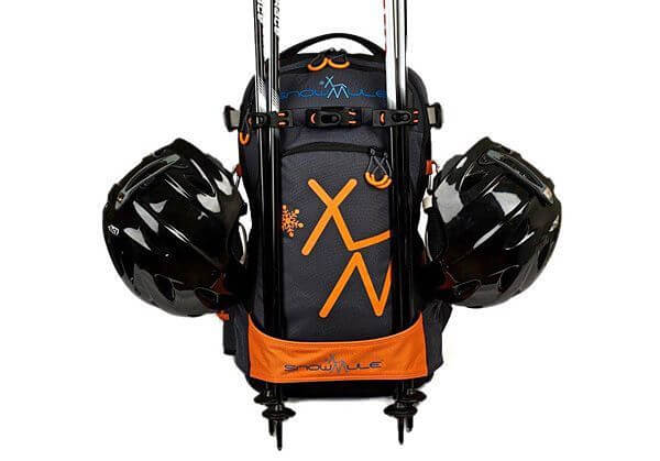 Незвичайний рюкзак лижника з буксиром для дітей