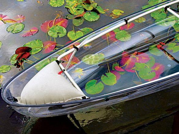 Прозора човен-каное