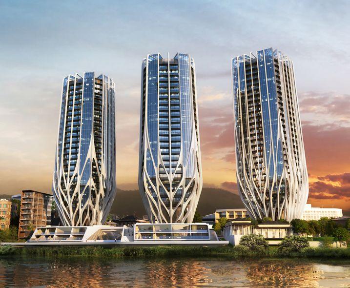 """""""Три бутона"""": новий архітектурний шедевр"""