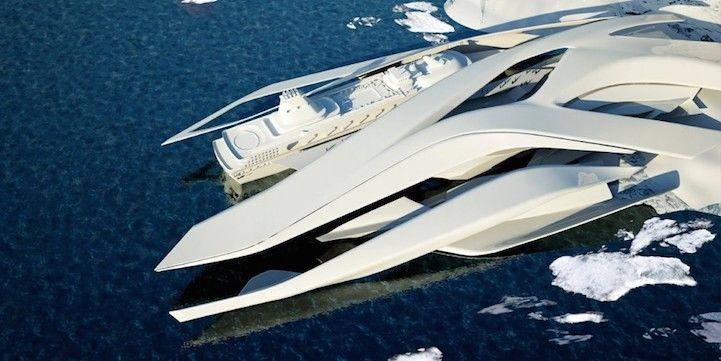 В Антарктиді з'явиться морський порт з унікальним дизайном