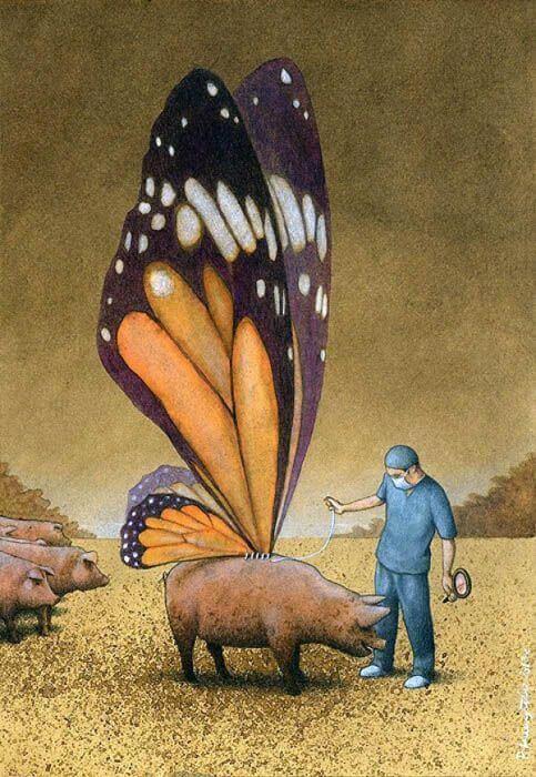 20 філософських карикатур на гостросоціальні теми