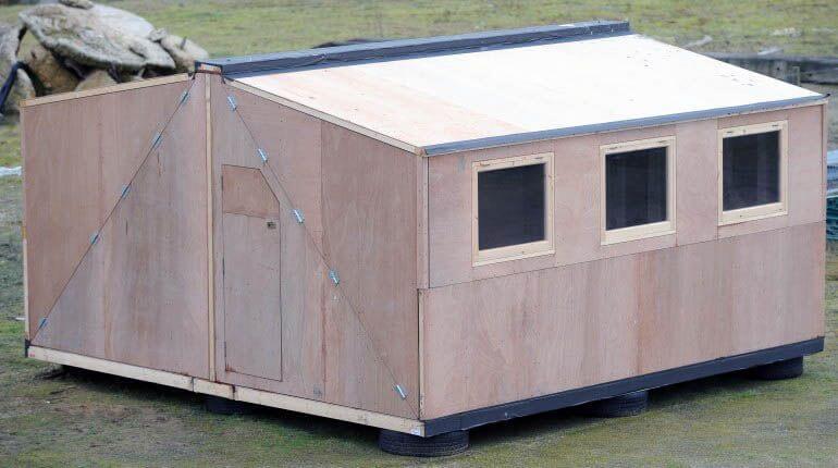 Hush2 - будинок-конструктор для укриття від урагану