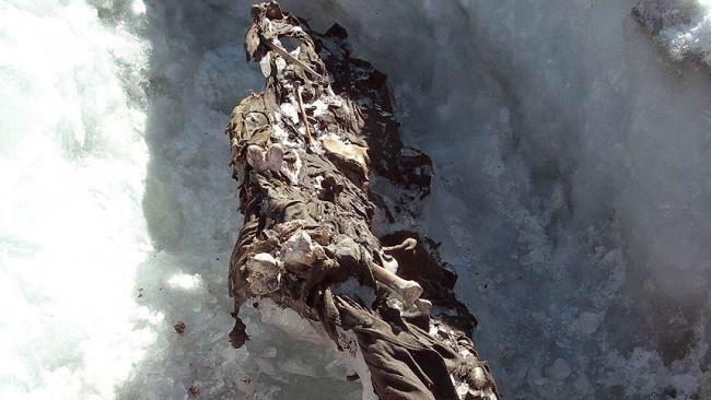 Найсенсаційніші знахідки, коли-небудь виявлені в льодовиках