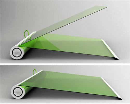 Plantbook - концепт екологічного ноутбука