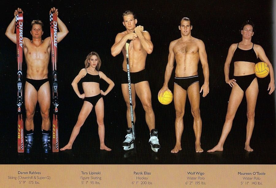 Як виглядають тіла спортсменів різних видів спорту?