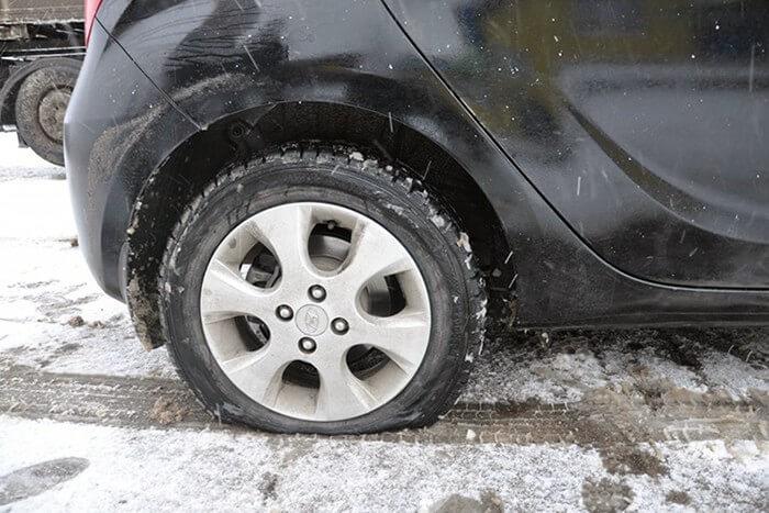 Як визволити автомобіль із замету?