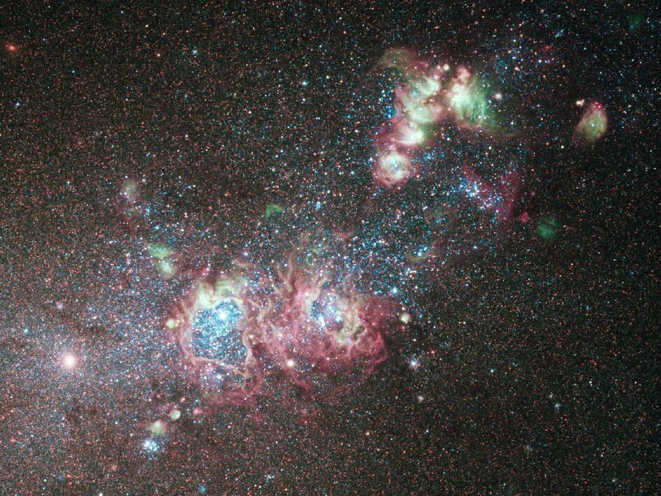 Чому ми бачимо так мало зірок на небі?