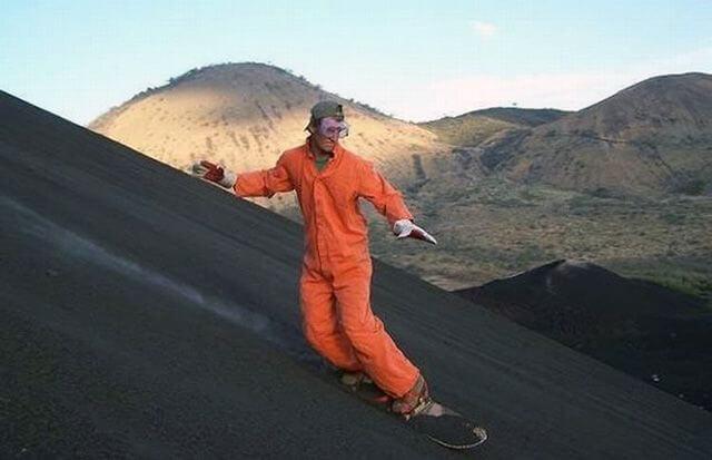 Бординг на вулкані