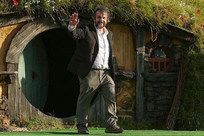 Пітер Джексон і житло хоббіта в Новій Зеландії