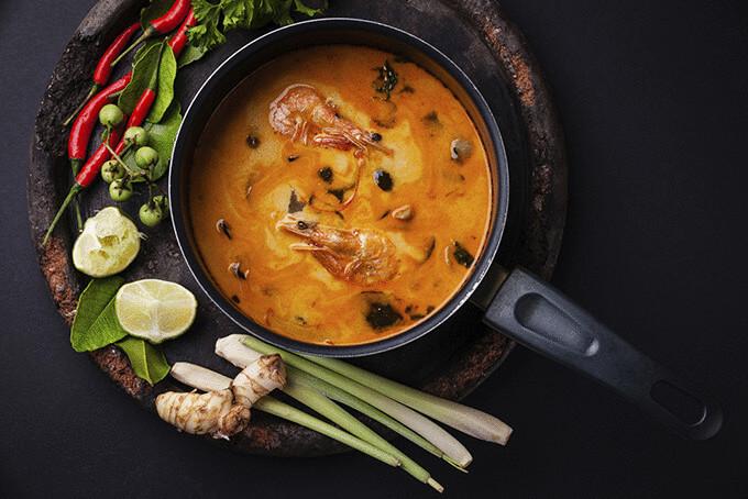 Тайський суп том ям
