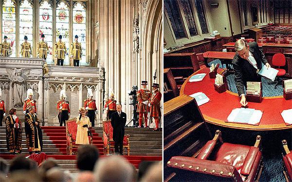 Британський парламент очима прислуги