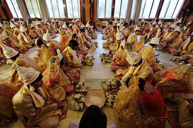 Як проводять весілля в різних країнах?